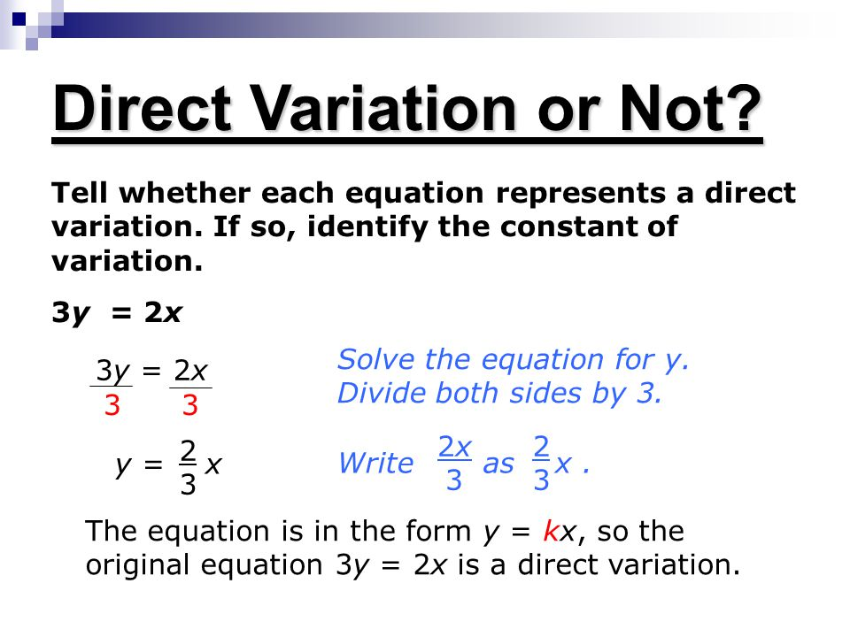 Variation Equations Calculator