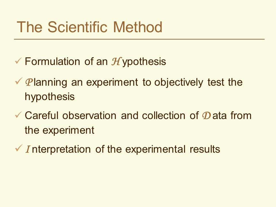 hypothesis statement in a research paper