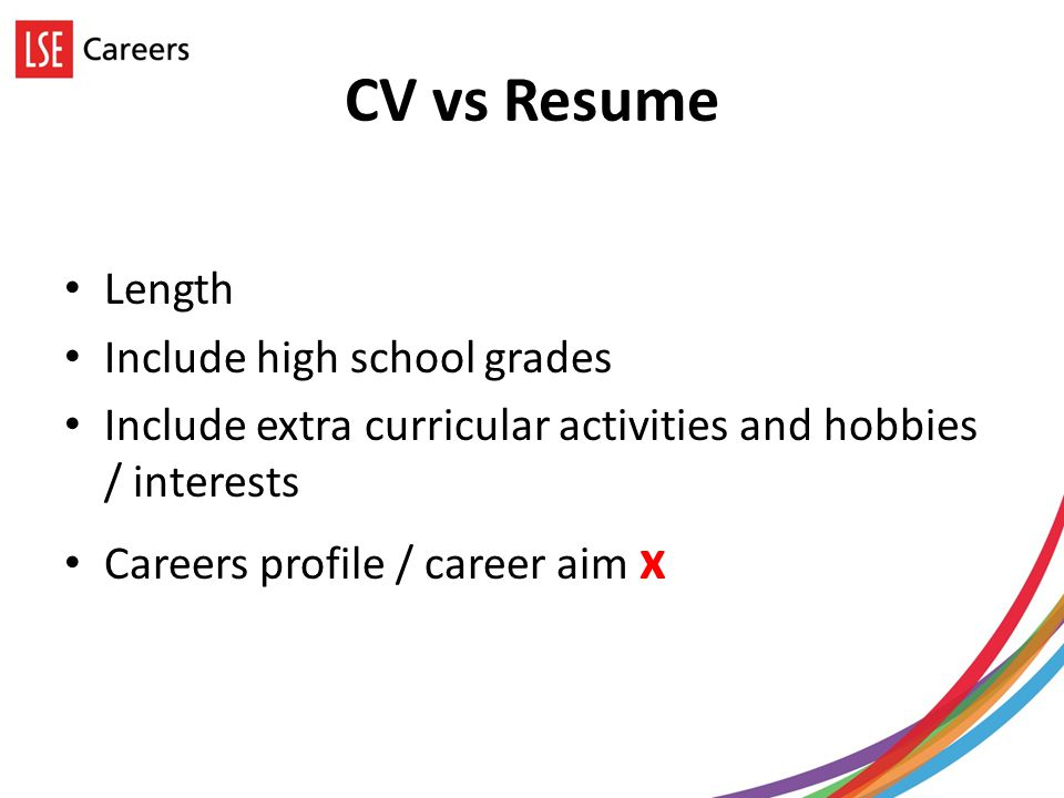 general course students career presentation