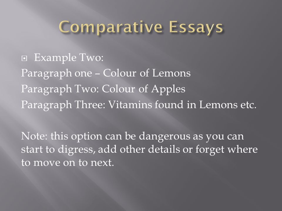 comparative words for essays Comparative essay by wasif hossain a composer's perspective of an event can be explored by the nature of representation, construction, layout, language and.