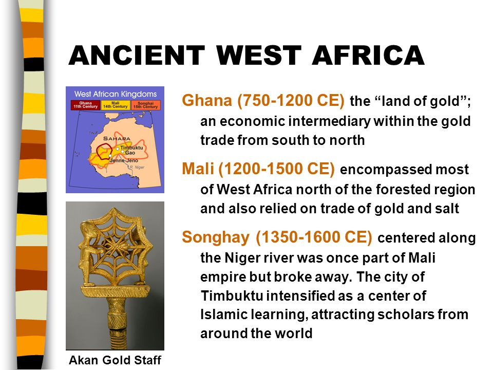 Which west african kingdom was the first to benefit from the