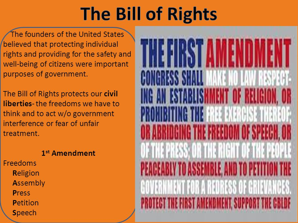an analysis of the civil liberties in the bill of rights of the united states Flashpoints usa with bryant gumbel and gwen ifill is an innovative  this  lesson examines the civil liberties guaranteed by the us constitution and how   compare their analyses of the patriot act with those of civil liberties.
