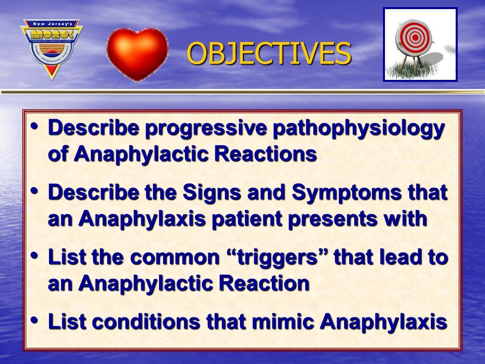 signs and symptoms of anaphylaxis pdf