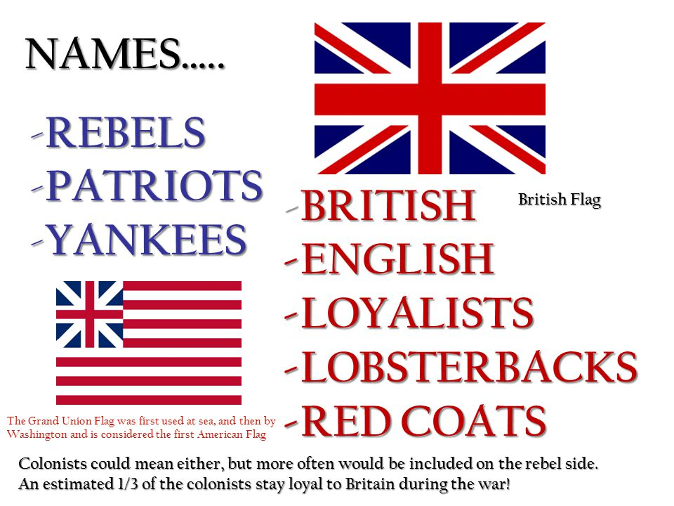 continental army vs british redcoats essay Free essay: the american revolutionary war (1775–1783), the american war   formal acts of revolt against british ascendancy commenced in 1774 when the.