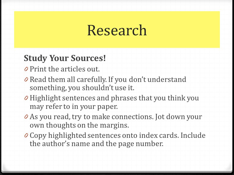 research papers sources The purpose of this guide is to provide advice on how to develop and organize a research paper in the social sciences primary sources.