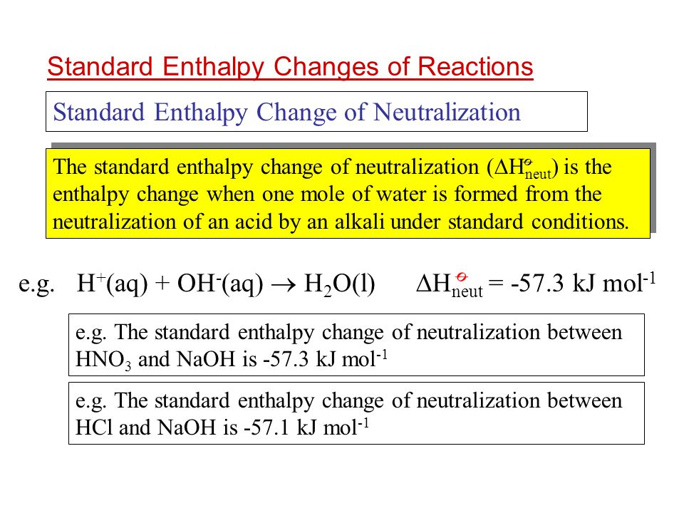 how to find change in enthalpy of a reaction