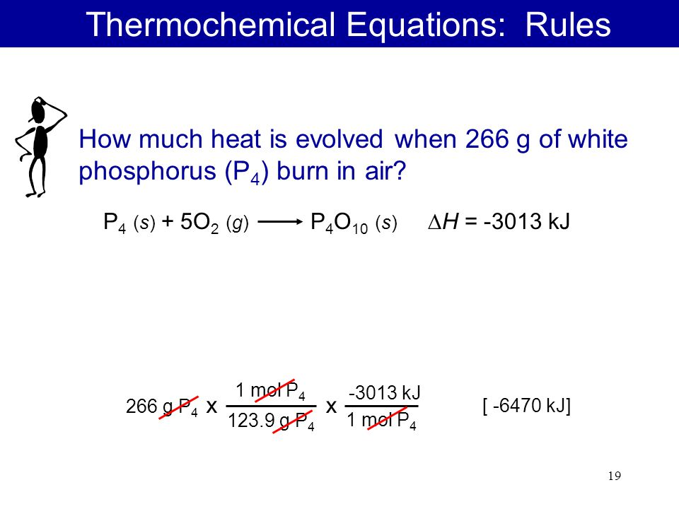How to write a thermochemical equation