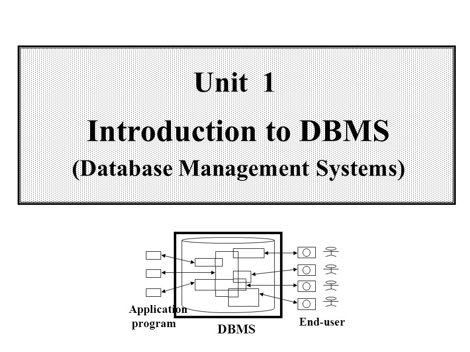 database management introduction Learn what database management systems are used for with hostway in order to make a decision about what kind of system you may need.