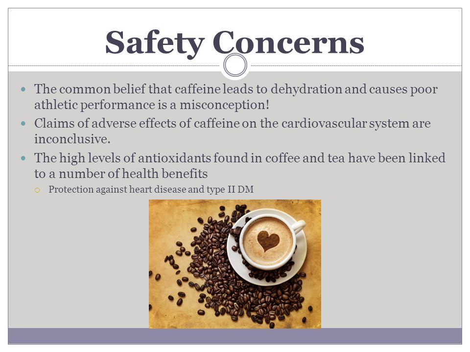 Caffeine and Cardiovascular Effects on Athletic Performance