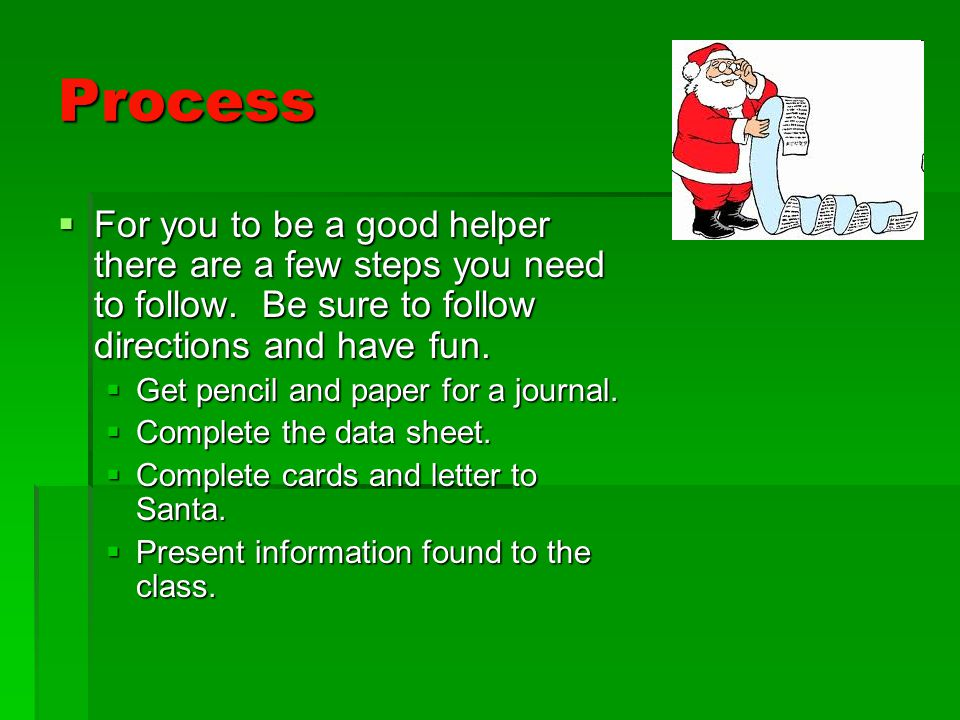 Christmas Around the World Webquest - ppt download