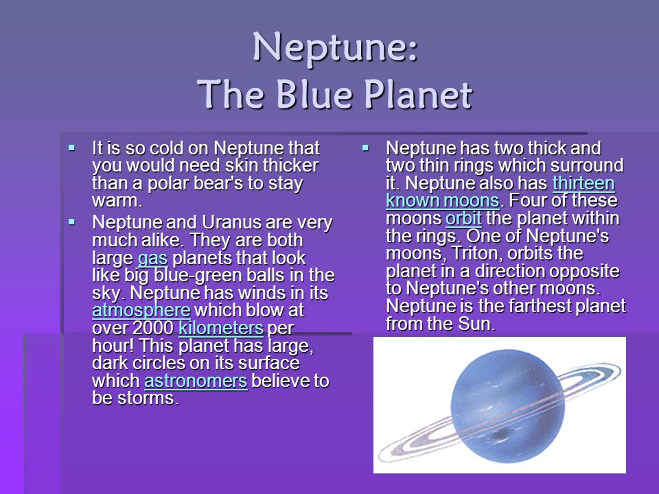 Neptune: The Blue Planet