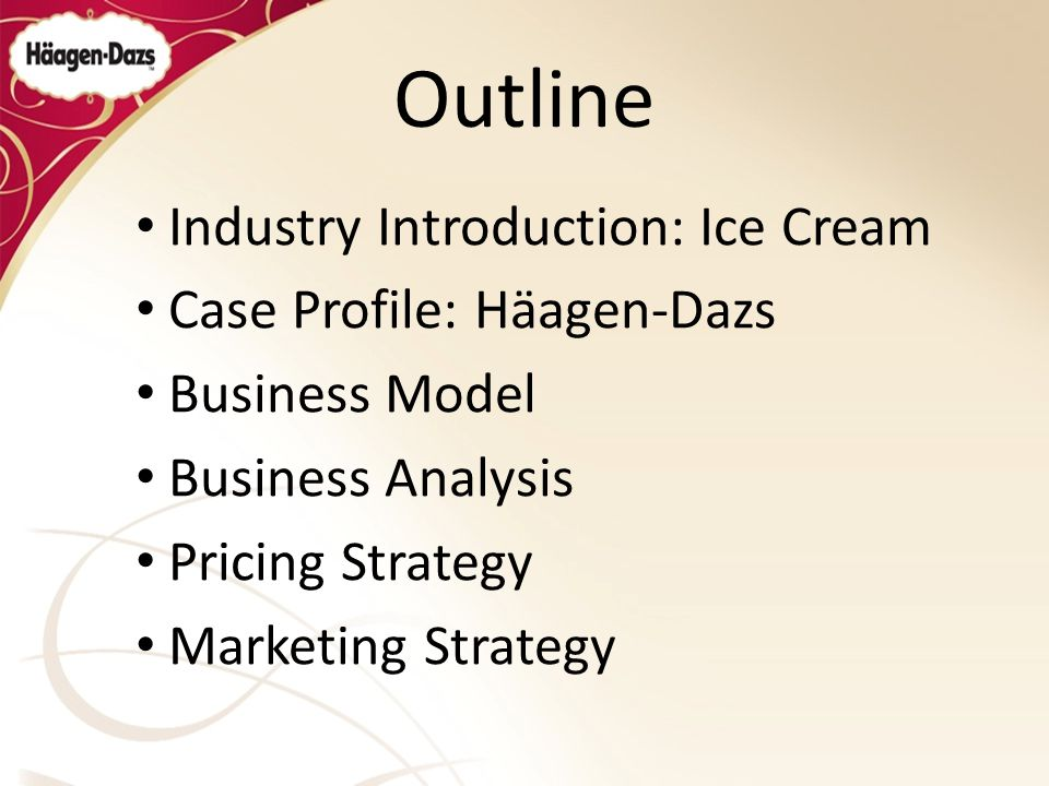 arun icecream case study Ice -cream industry scenario in india the ice cream market growth picked up after de-reservation of the sector in 1997 of the total size of rs 15-16bn, around 30-32% is in the hands of organized sector valued at rs 49bn, rest all is with the unorganized sector.