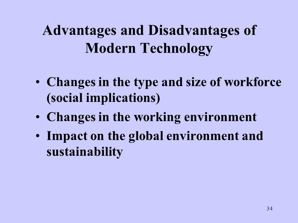 Essay about the advantages and disadvantages of ict