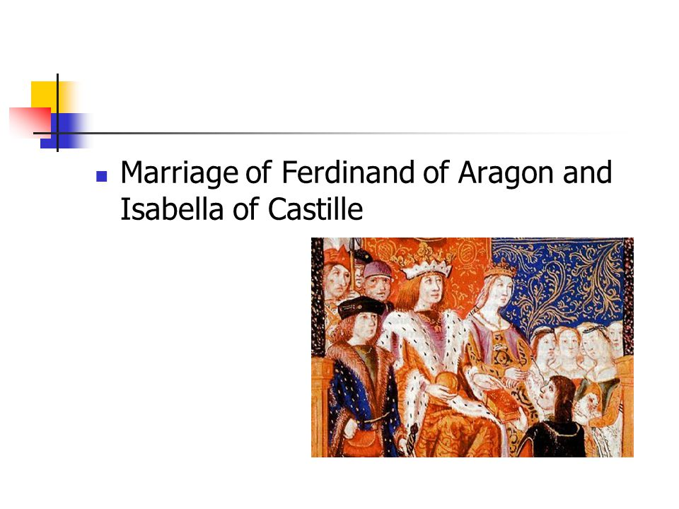 Marriage of Ferdinand of Aragon and Isabella of Castille