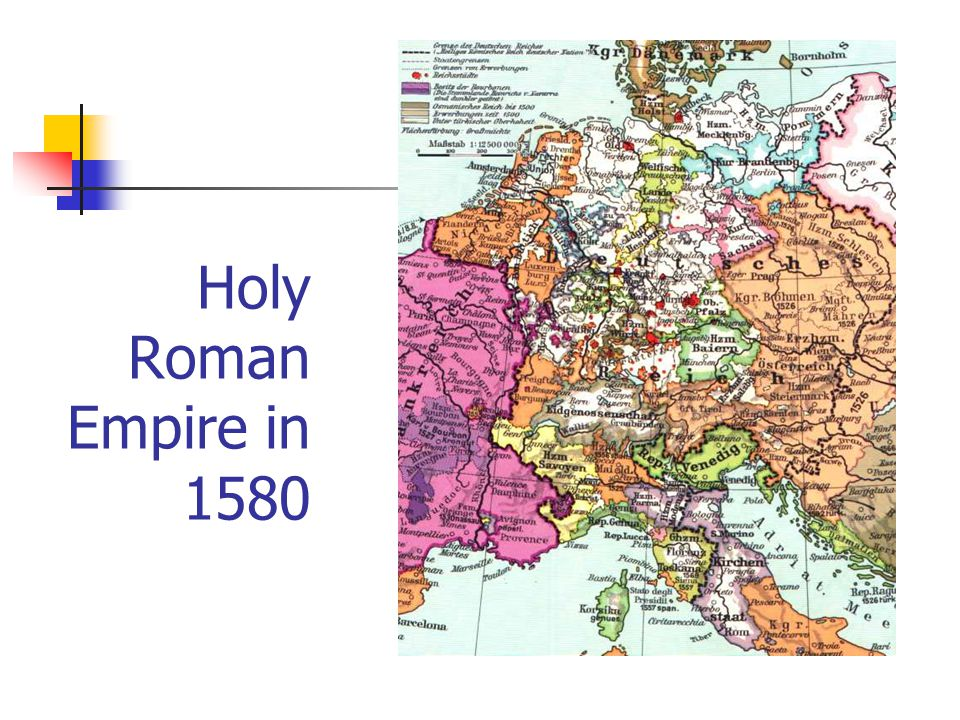 Holy Roman Empire in 1580