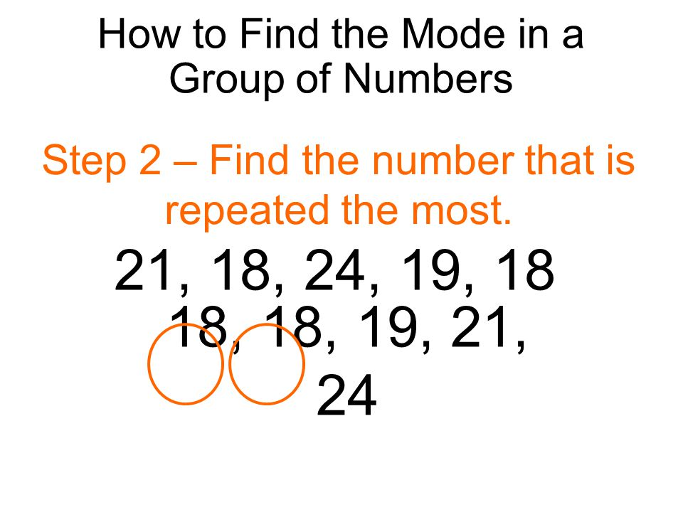 how to find the range of a set of numbers