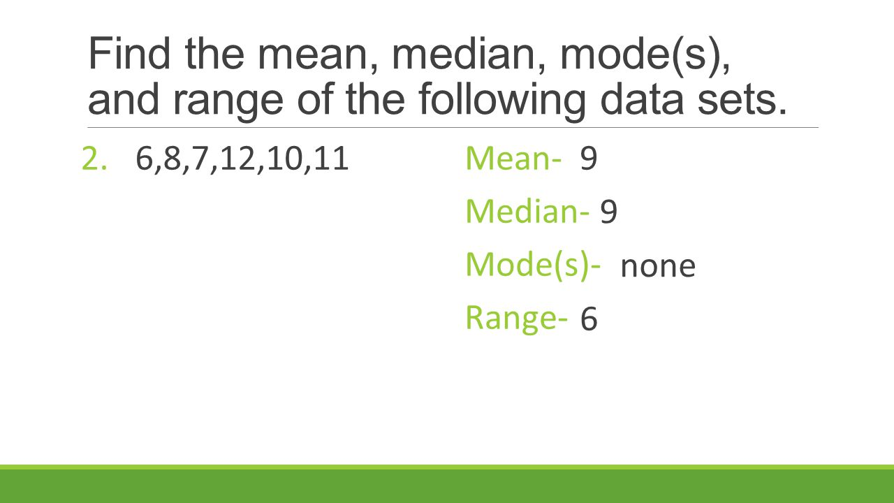 How To Find Range Median And Mode Solution For How To For Dummies