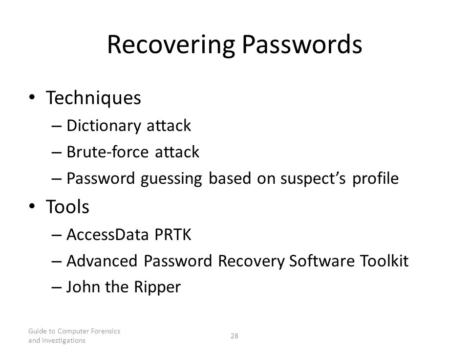 password guessing attack The goal with your password is to make it hard for other people to guess and hard for a brute force attack to brute force attacks hostgator: password.