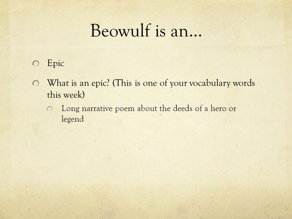 the idea of immortality for christian and pagan religion in the epic of beowulf 'beowulf' is an epic most of the paganism in beowulf is depicted through the lens of a medieval christian idea of what norse paganism paganism in beowulf.