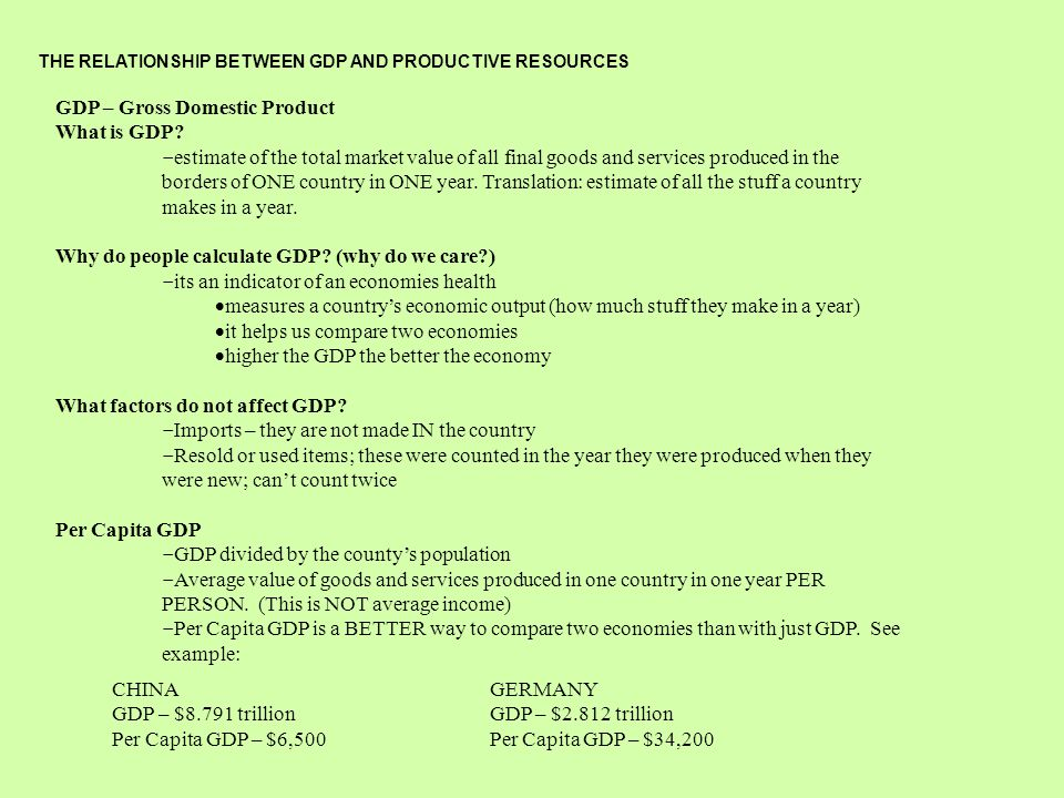 How Do Natural Resources Affect A Country S Economy