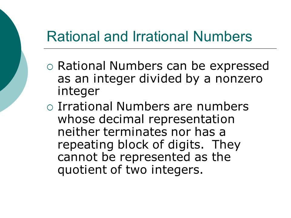 Set of Real Numbers. - ppt video online download