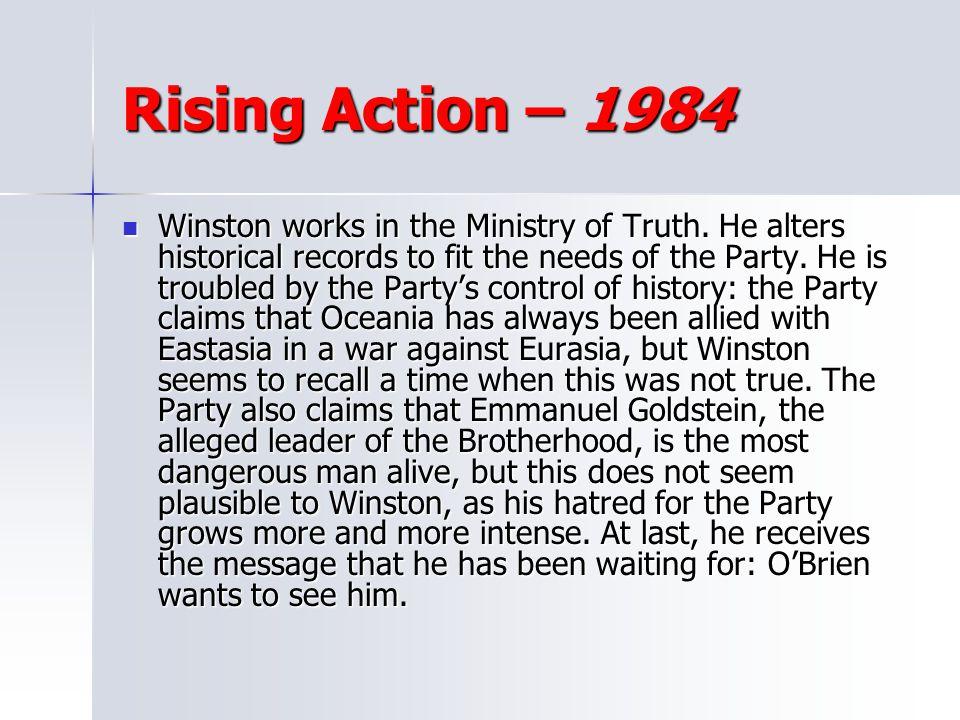 Rising Action – 1984