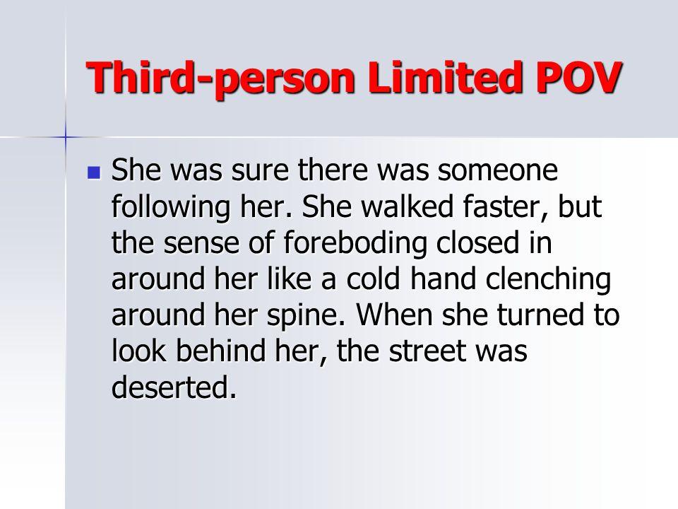 Third-person Limited POV