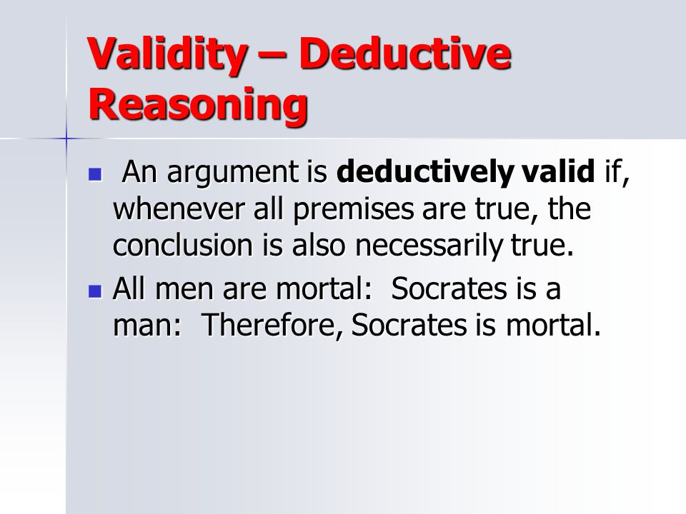Argument literary term