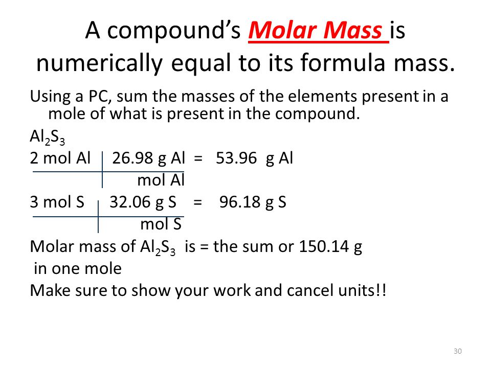 how to find moles of one element in a compound