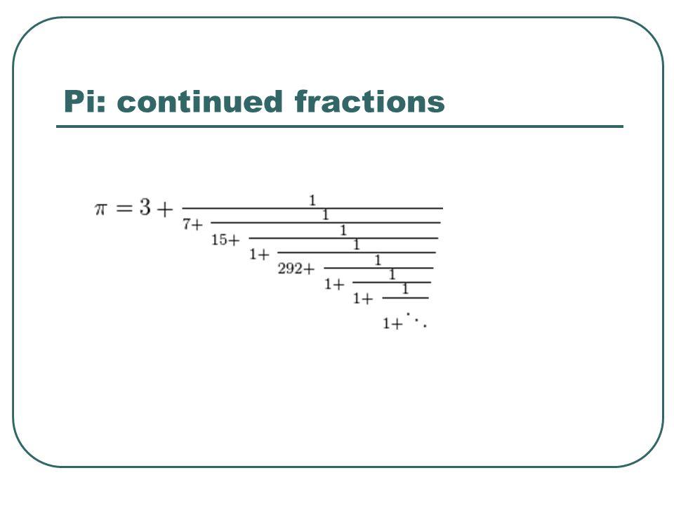 PI as a fraction - Math Online Help