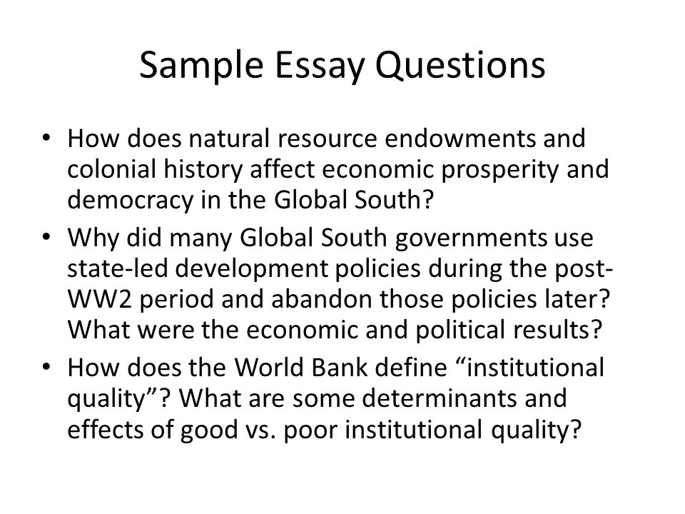 social effects of democracy ppt video online  sample essay questions