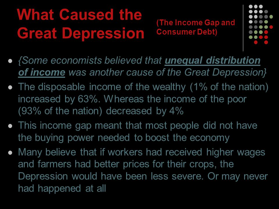 What Caused the Great Depression