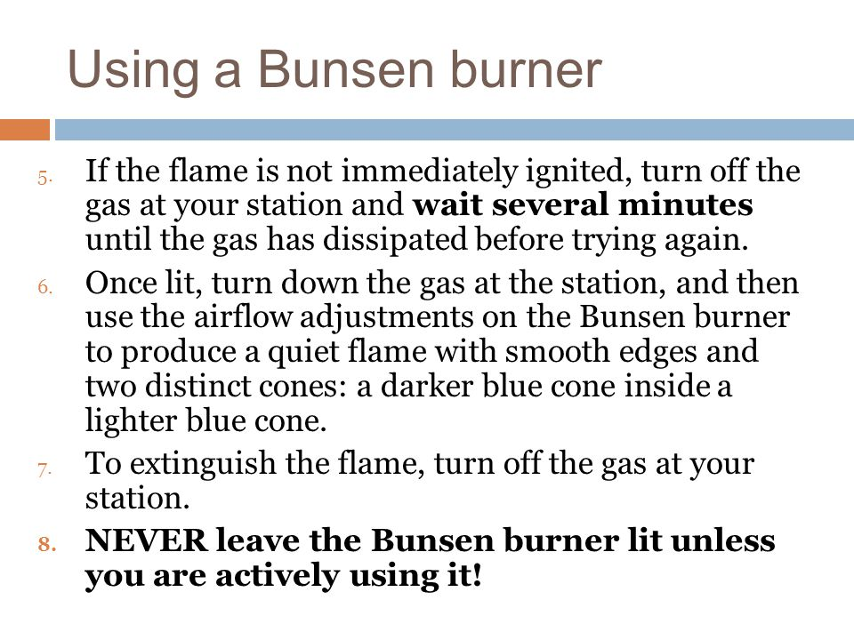 water and bunsen burner essay Teacher's overview summary students use a bunsen burner, microwave oven, and hot plate to determine which instrument heats water most efficiently.