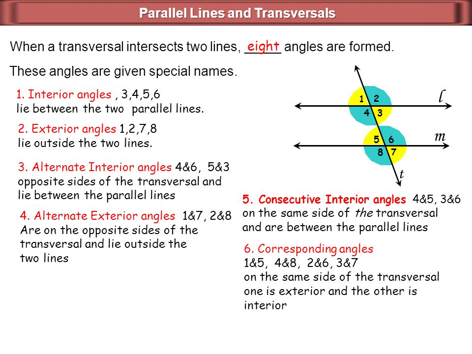 Introduction to angles and triangles ppt download - Which of the following are exterior angles ...