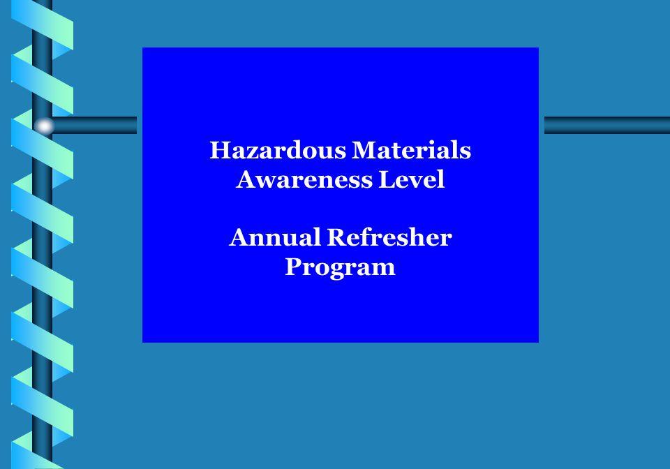 Hazardous Materials Awareness Level