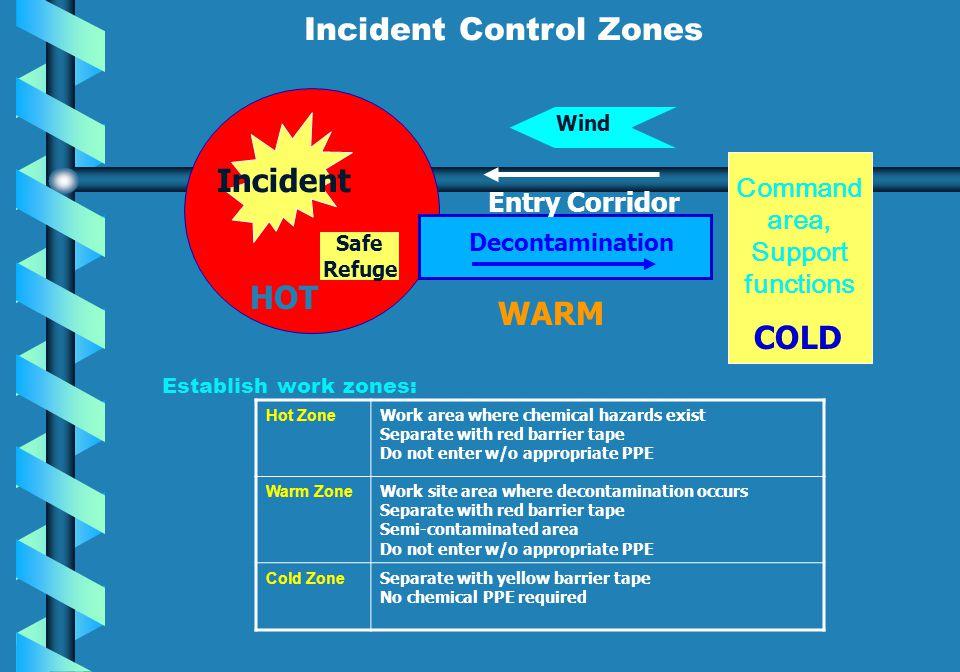 Incident Control Zones