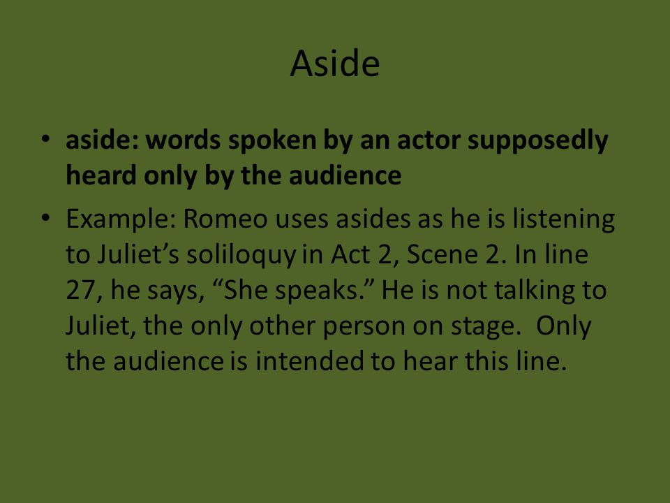 Romeo and Juliet Literary Terms - ppt download