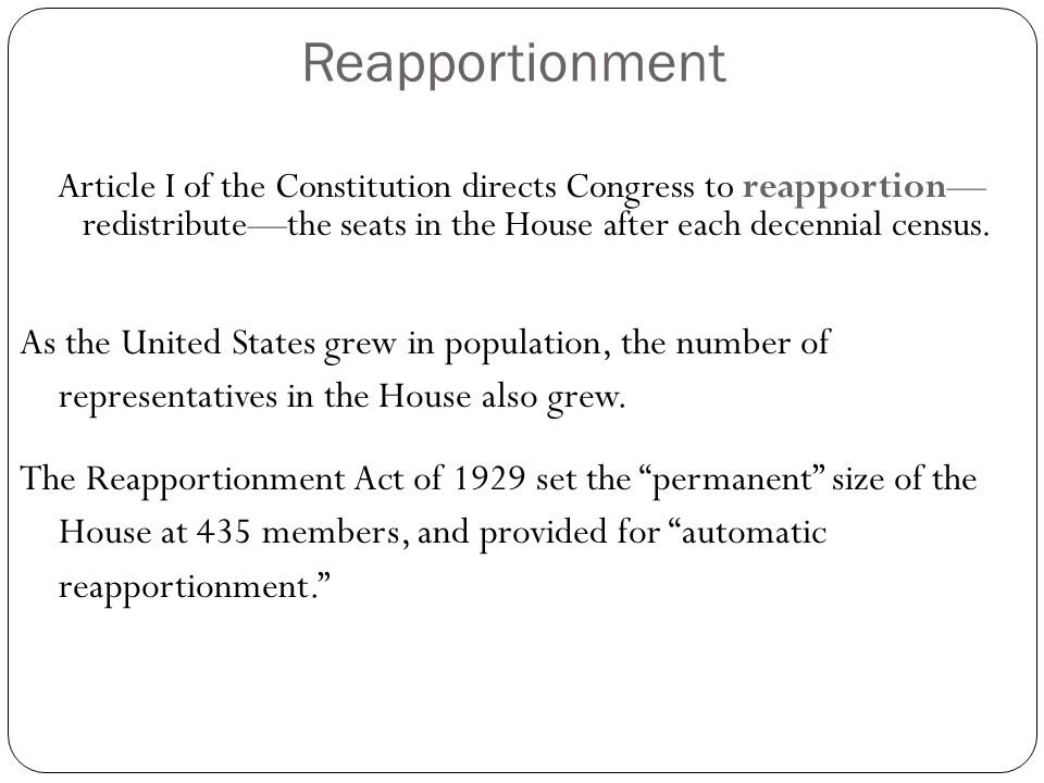 The House of Representatives & the Senate - ppt download