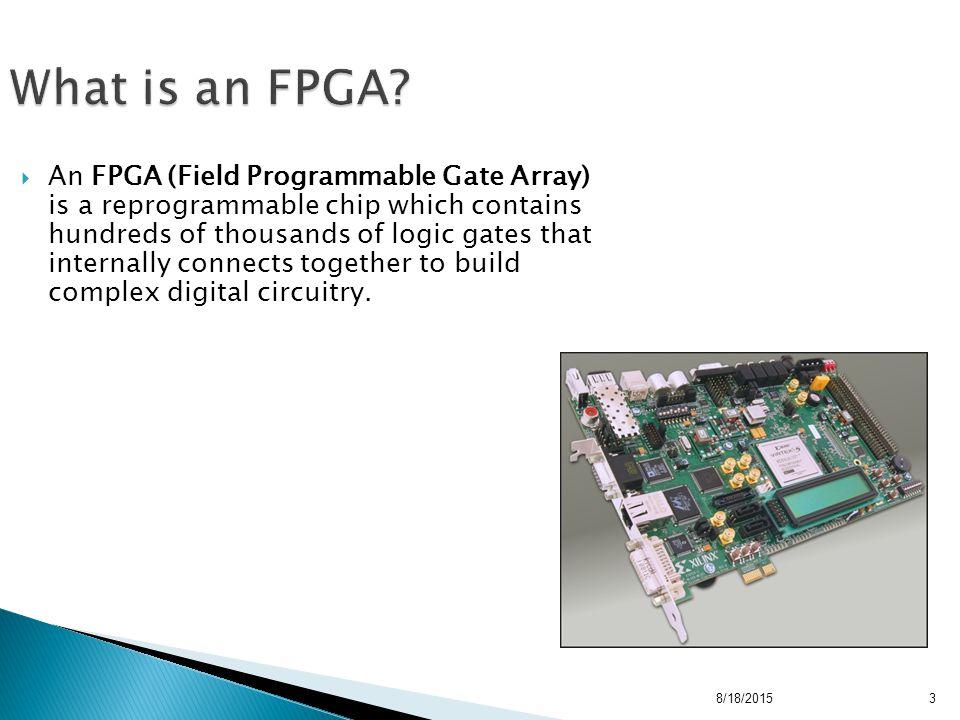 field programmable gate arrays  fpga