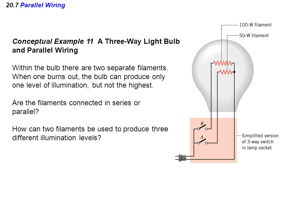 Conceptual+Example+11+A+Three Way+Light+Bulb+and+Parallel+Wiring onan 4bgefa26100m wiring diagram dolgular com Simple Electrical Wiring Diagrams at eliteediting.co
