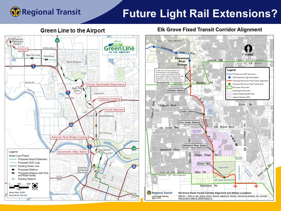 Future Light Rail Extensions