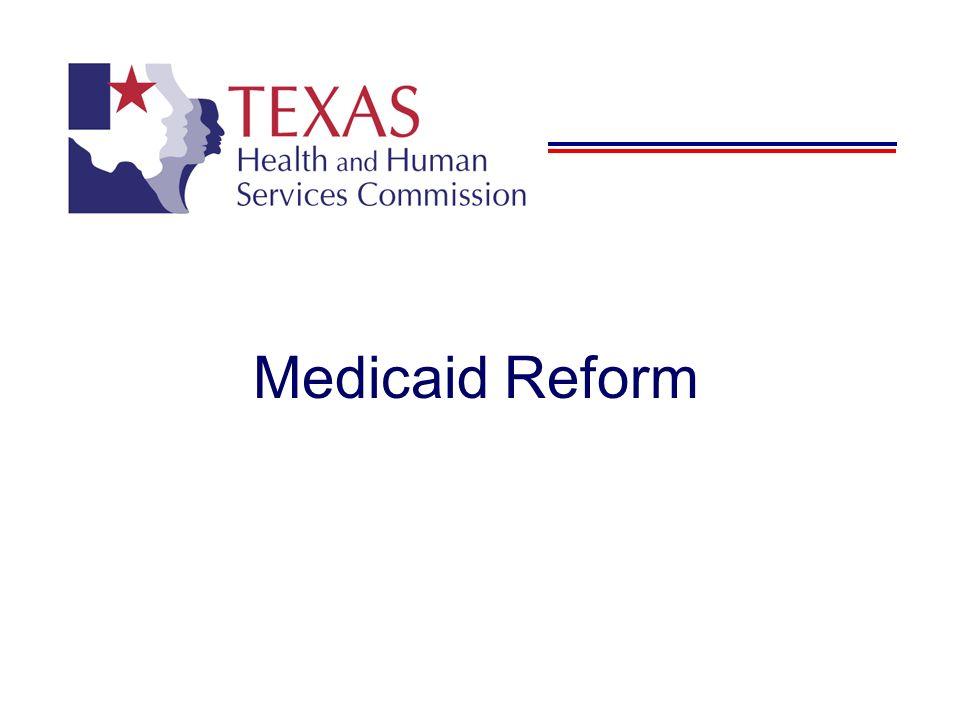 Medicaid Reform