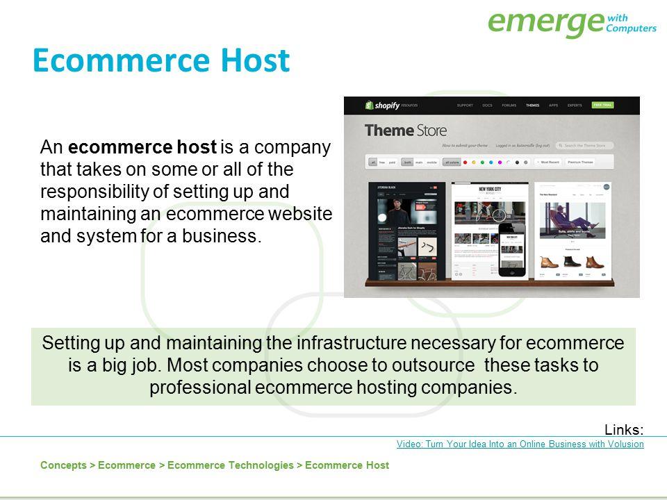Ecommerce Host