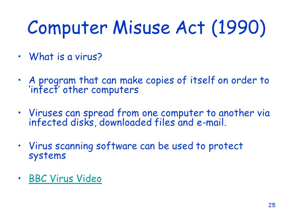 data protection act and computer misuse The public interest disclosure act 1998 • the computer misuse act 1990 2  scope 21 this policy applies to those members of staff that are directly  employed.
