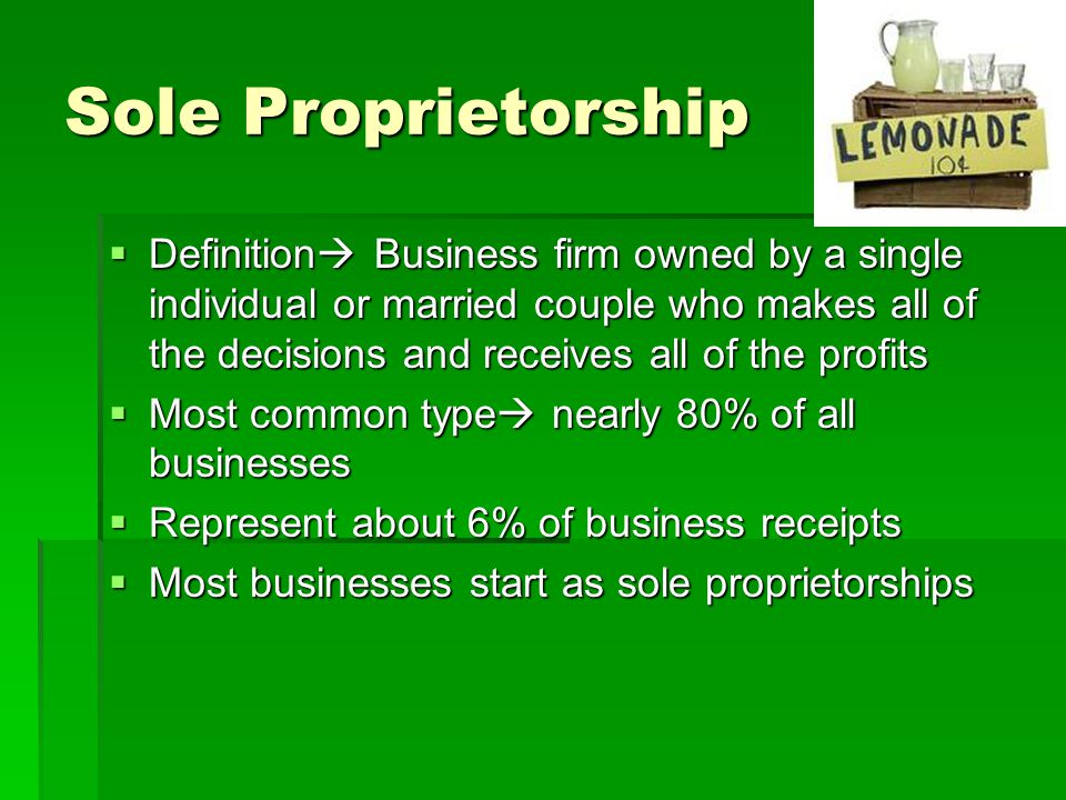 Business Organization ...