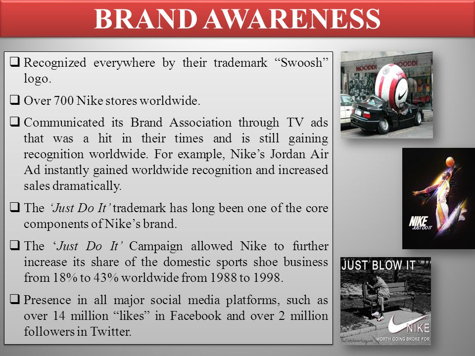 nikes strategy regarding social media advertisements All the marketing news, analysis, opinions and ad campaigns from nike  mark  ritson: nike's londoner ad is great creative, but is the city-focused strategy right   social media manager  under armour ties with htc to take on nike.
