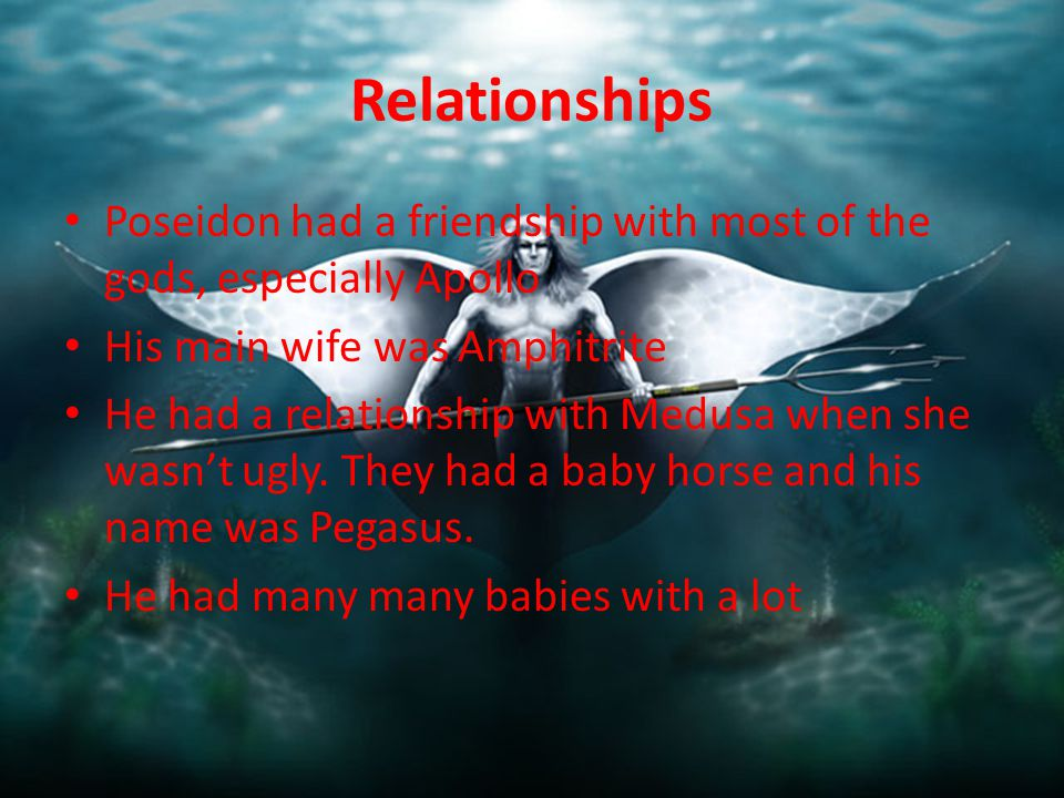 poseidon and medusa relationship quiz