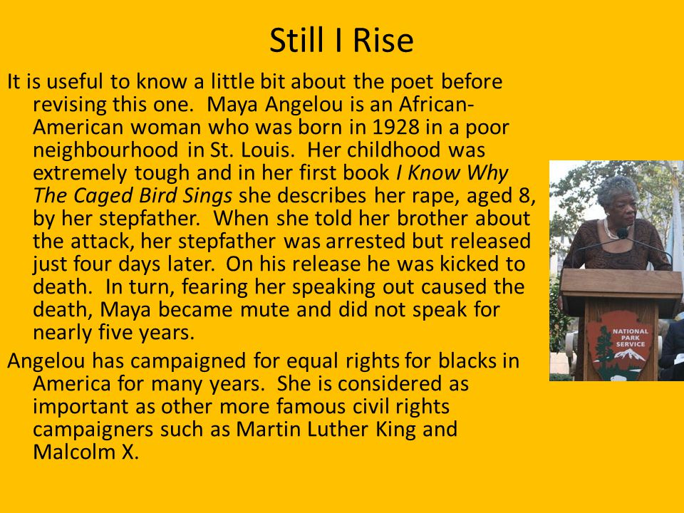 an analysis of major themes in why the caged bird sings by maya angelou What are the themes in maya angelou's  and began work on the book that would become i know why the caged bird sings   piano performance major taught.