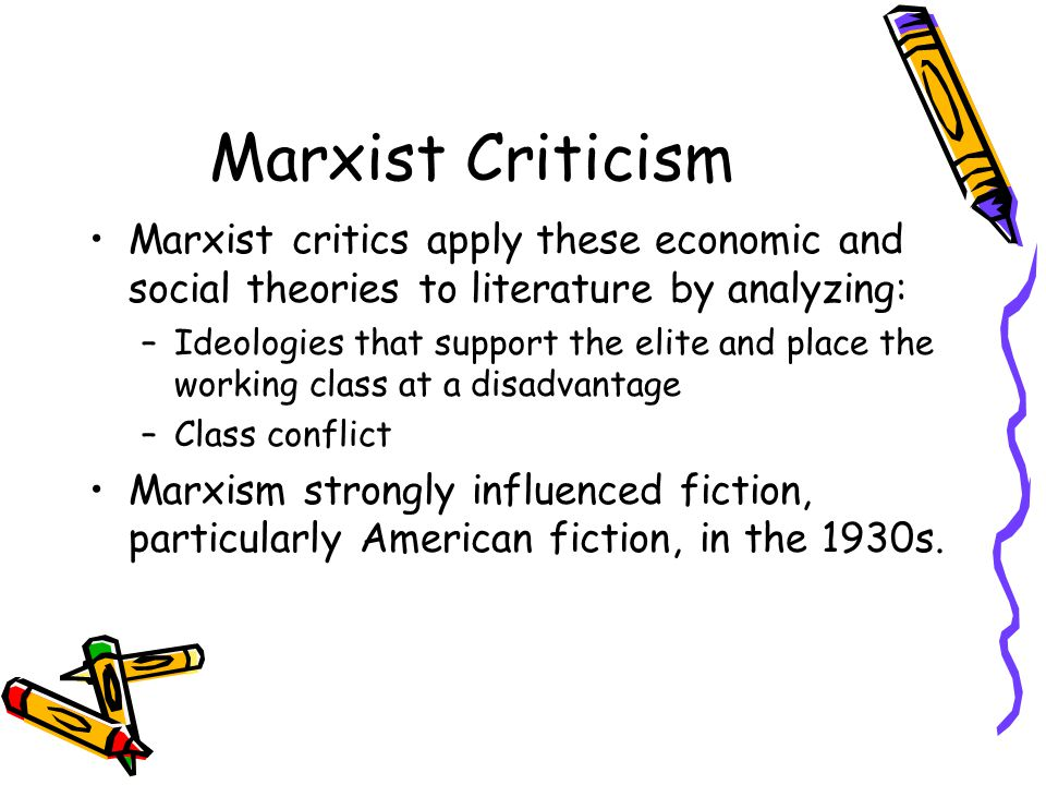 theories of literary criticism ppt video online  19 marxist criticism