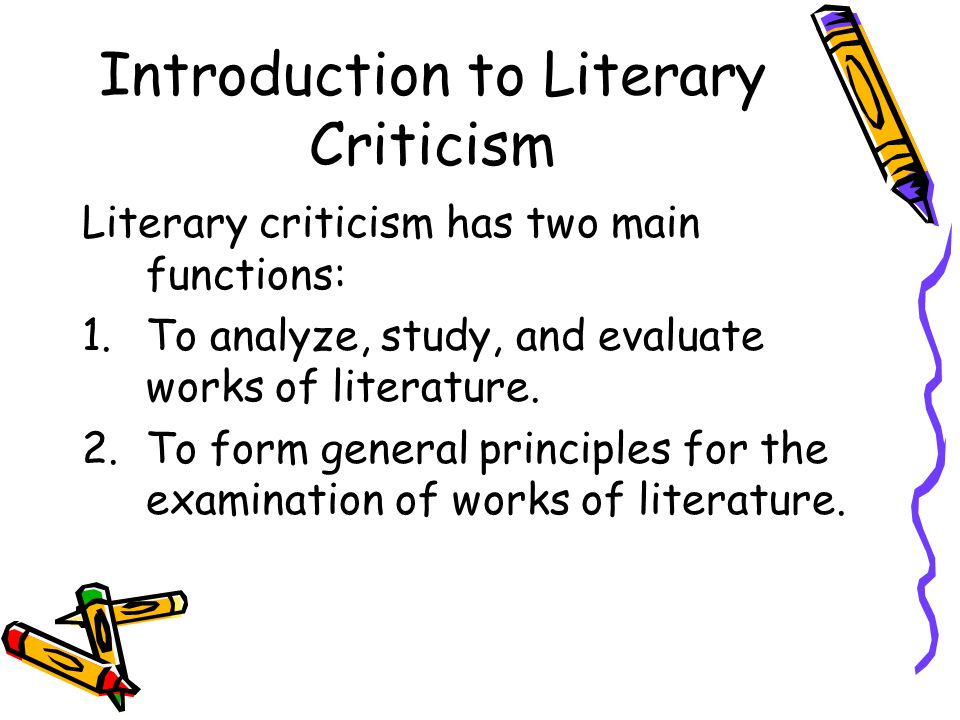 literary criticism and study material Study plans learn with practice llc materials and this year's uil literary works to study, but part 3: 15 questions over literary criticism (other works.